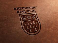 Logoentwicklung Rheinische Republik.