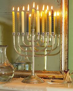 Hanukkah Candles - Martha Stewart Crafts