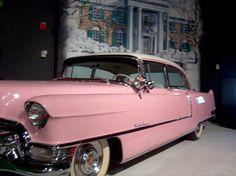 Elvis' pink Cadillac.  This is in the car museum at Graceland.