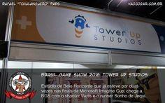 Brasil Game Show 2016: Tower Up Studios - Estúdio de Belo Horizonte que já esteve por duas vezes nas finais da Microsoft Imagine Cup, chega a BGS com o shooter Wells e o runner Sonho de Jequi. #BGS #BGS2016 #TowerUpStudios #Wells #SonhoDeJequi