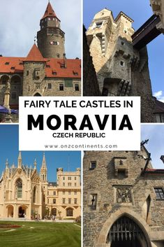 Czehia is a country with hundreds of fairy tale castles. Let's explore the medieval castles in Moravian part of Czech Republic. Europe Travel Tips, European Travel, Travel Destinations, Travel Eastern Europe, Travel Guides, Germany Castles, Fairytale Castle, Medieval Castle, Central Europe