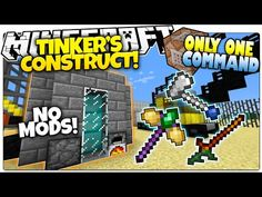 Minecraft | THE AVENGERS IN ONLY ONE COMMAND BLOCK! | How To Be A Superhero! (One Command Creation) - YouTube