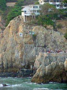 Cliff Divers Acapulco, Mexico