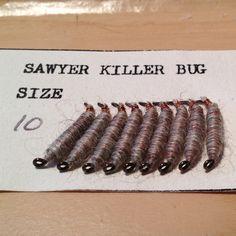 Frank Sawyer - Killer Bug - Original Killer Bug's tied by his wife Margaret