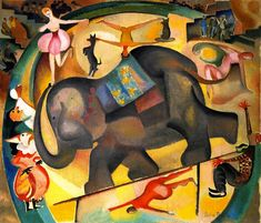 """""""The Elephant"""" by Alice Bailly, 1922"""