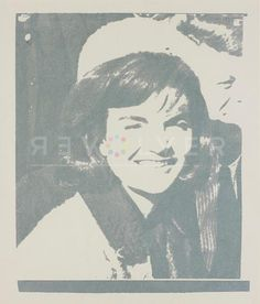Jacqueline Kennedy was and continues to be an American icon. By using images lifted straight from Life magazine, Warhol was commenting on media frenzy. Warhol continued later in his career to comment on American society, he also used women who were icons of cinema, media or politics.