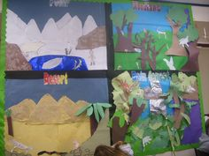 Wall Display Primary 6 at Loirston-Coping with Climate Project - Classroom Displays