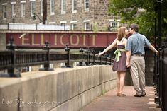 Old town Ellicott City dowtown | Leo Dj Photography