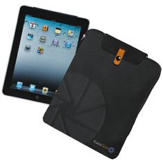 KAOS CLICK NON-STOP: iPad case - Material: Nylon with faux leather inserts - Size: 21 x 26 x 2.5 cm