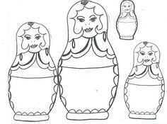 What Are we Doing in Art Today?: Matroyshka Doll Lesson
