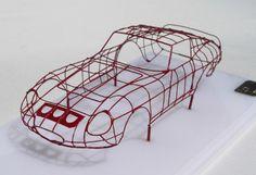 LP CREATION - Pierre LAUGIER Car Modeller > Limited-Edition Hand-built Models & 'Bodybuck' Models - New Ferrari 512 S Modulo Pinin > 'Bodybuck' Models - New Ferrari 512 S Modulo Pinin > Ferrari 250 GTO