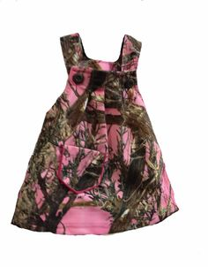 Southern Sisters Designs - Pink Camouflage Baby Dress, $13.99 (http://www.southernsistersdesigns.com/pink-camouflage-baby-dress/)