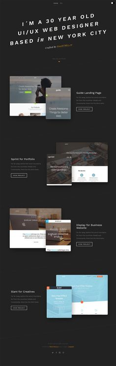 Free One Page Website HTML Template - Hold - GraphicArmy