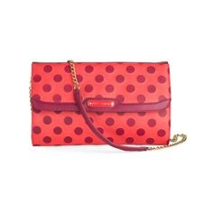 Love this adorable Betsey Johnson clutch. The... | ModCloth on Tumblr ❤ liked on Polyvore