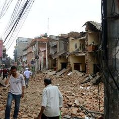 04/26/2015: Saturday NEPAL EARTHQUAKE LEAVES (so far) 1800 DEAD: PRAY FOR NEPAL : Nepal quake occurred at major plate boundary