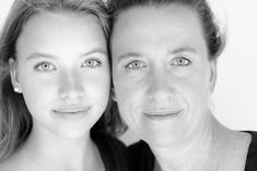 high contrast portrait black and white portrait photography of beautiful mother and cute daughter. All the right ingredients to make ones heart smile. black and white photography   photo   photography   teen   portrait   teenager   joy  laughter   happiness   More at www.sheona-ann-photography.com
