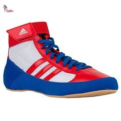 pretty nice 39dee a4741 adidas Chaussons Montants Homme - Blanc - White Red Blue, 43 1 3 EU  Amazon. fr  Chaussures et Sacs