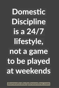 Christian domestic discipline life