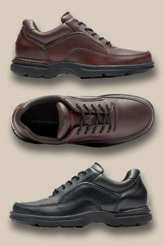 new product a67b7 44b3f All-day comfort in a classic construction. Lace up everyday style with  these casual walking shoes from Rockport. Men s casual shoe fashion ideas  at Macy s ...