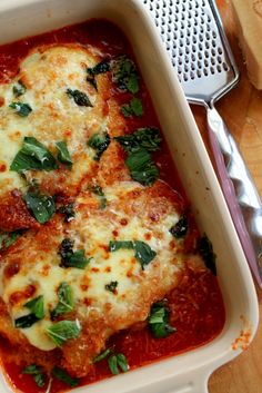 RIF Chicken Parmgiana with Italian Tomato & Basil Sauce… | Real Italian Foodies