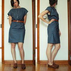easy short-sleeved kimono dress by Dianna
