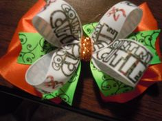 Check out this item in my Etsy shop https://www.etsy.com/listing/249484849/country-cutie-camo-hair-bow