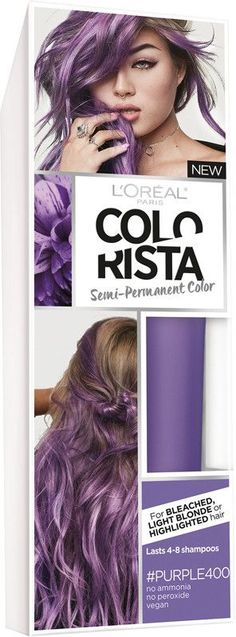 L'Oreal Colorista Semi-Permanent for Light Blonde or Bleached Hair