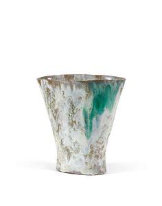 Fausto Melotti; Glazed Ceramic Vase, 1958.