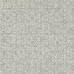 Serego Wallpaper A silver and beige block printed abstract vinyl wallcovering with an antique air, complemented by the textured ground. Linen Wallpaper, Neutral Wallpaper, Designers Guild Wallpaper, Designer Wallpaper, Turquoise Wallpaper, Cream Curtains, Luxury Home Decor, Interior Design Services, Vinyl