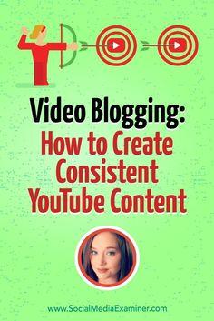 Video Blogging: How