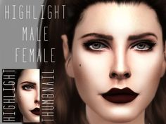The Sims Resource: HighLight v1 by Gramsims • Sims 4 Downloads