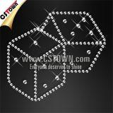 Bling Dice Rhinestone Custom Hot Fix Crystal Patterns (CAS-022)