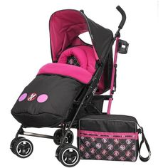 86cfda7b03 OBabyDisney Stroller Bundle With Footmuff