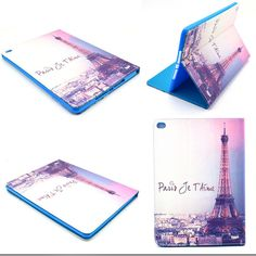 For ipad air 2 ipad 6 cases Print pattern Leather stand Flip Protective Cover Case For ipad air2 Tablet Accessories S3D25D