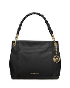 bc2c44fb08ed MICHAEL Michael Kors Classic leather shoulder bag that is perfect for day  or night. Braided