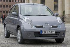 Front: Nissan Micra als Kleinwagen / Saloon - 80 PS / 59 kW