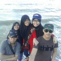 Libur lebaran 31 juli 2014 @pantaiangsana