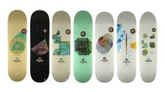 Magenta : Skateboarding around the world in nice suit. Skate Decks, Skateboard Decks, Magenta, Skate Art, Deck Design, Skateboards, Sacred Geometry, Cool Suits, Surfboard