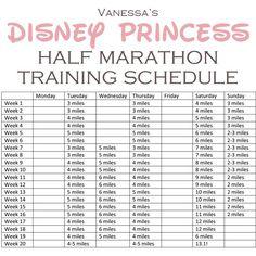 (buff mama monday) half marathon training schedule