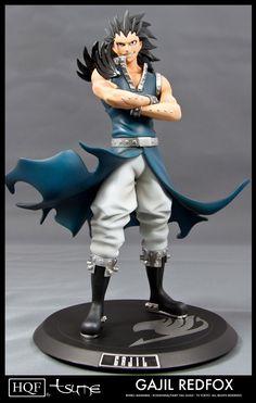 Fairy Tail - Gajeel Redfox statue