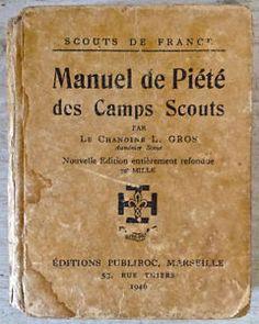 Antiquité 1946. Collection. Manuel de Piété des camps Scouts. Lévis Chaudière-Appalaches image 1