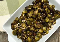 I made these tasty Maple Roasted Brussel Sprouts on Thanksgiving, from Vegan Chef Chloe..you should try it!