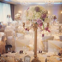 nice vancouver florist Elegant floral complimenting the gorgeous banquet hall at Terminal City Club. Candelabras from Lavender Flowers, Purple Flowers, Centerpieces, Table Decorations, Candelabra, Banquet, Vancouver, Compliments, Wedding Flowers
