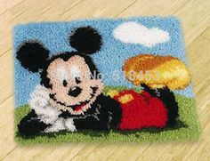 Mickey Mouse Rug Kit