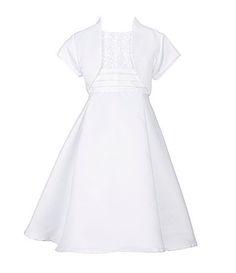 Jayne Copeland Little Girls 46X SoutacheBodice ALine Dress #Dillards