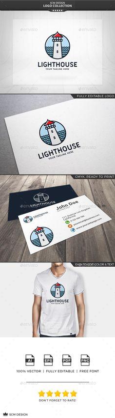 Lighthouse Logo Template Transparent PNG, Vector EPS, AI Illustrator. Download here: http://graphicriver.net/item/lighthouse-logo/15637472?ref=ksioks