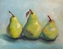 A visual display of paint works by Canadian artist Cheryl Todd Shergold. Residing in Crossfield, Alberta - Cheryl paints in oils, acrylics and watercolor. Visual Display, Canadian Artists, Cheryl, Pear, Oil, Watercolor, Artwork, Painting, Pen And Wash