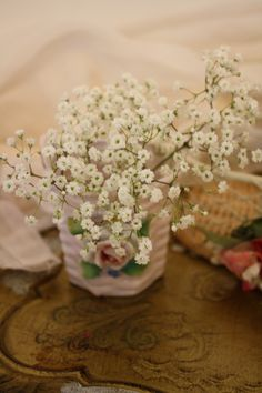 Baby's breath: everlasting love
