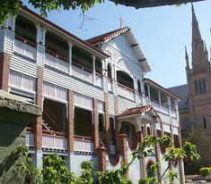 St Mary's Primary School – Birchall & Partners Architects, Ipswich Australia Architects Ipswich | Architects Brisbane | Architects Gold Coast Brisbane Architects, Architectural Columns, Queenslander, Primary School, Gold Coast, Building Design, Architecture Design, Buildings