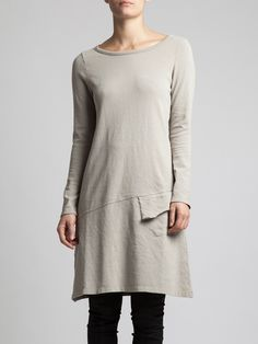FLARED DRESS WITH THICK COTTON - JACKETS, JUMPSUITS, DRESSES, TROUSERS, SKIRTS, JERSEY, KNITWEAR, ACCESORIES - Woman -
